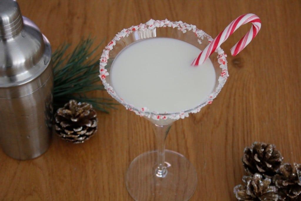 White Christmas Martini foto