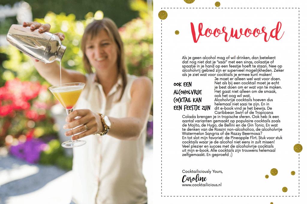 Alcoholvrij ebook Cocktailicious