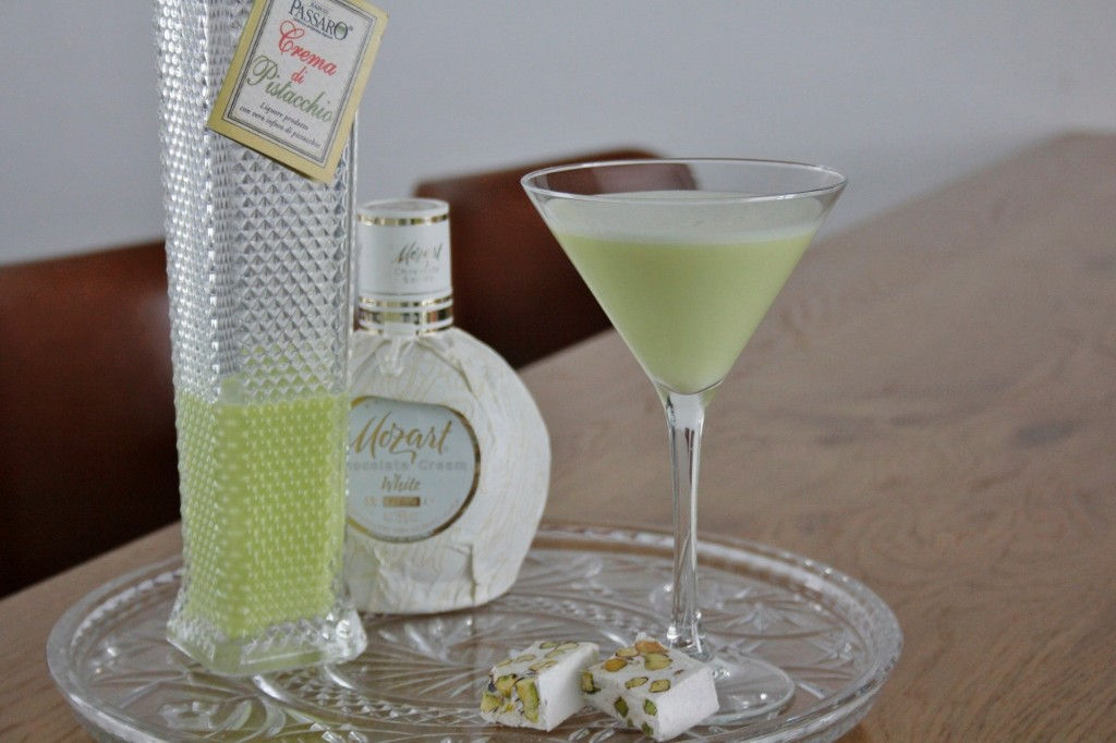 Pistacchio White Chocolate Martini foto