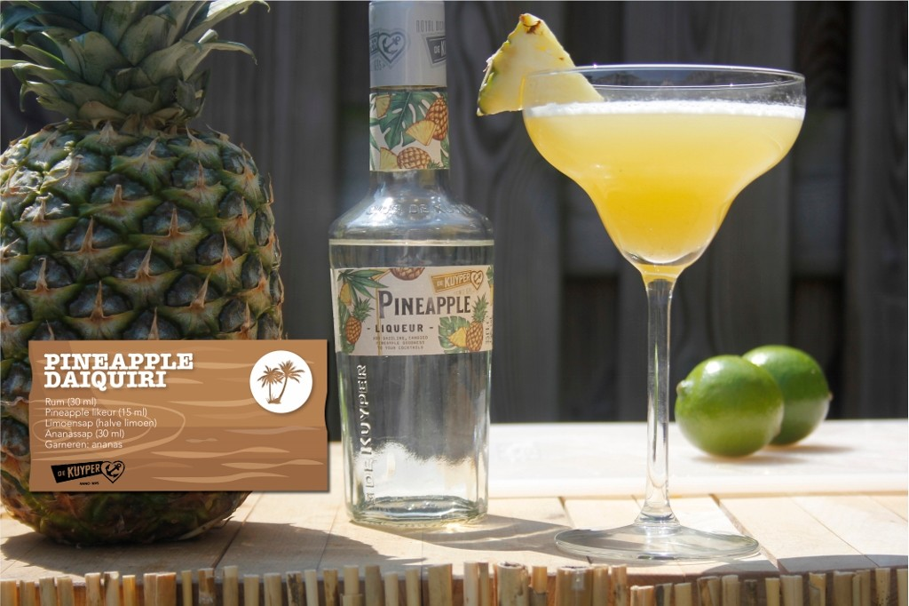 PineappleDaiquiri cocktail