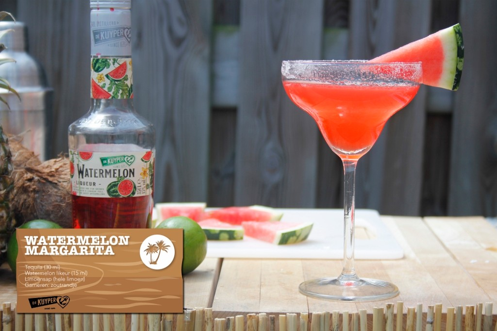 WatermelonMargarita zomercocktail