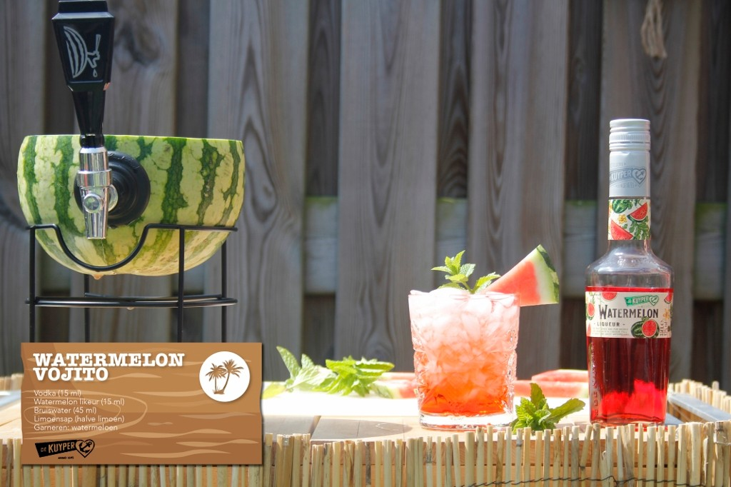 Watermelon Vojito zomercocktail