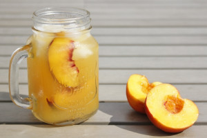 Long Island Peach Tea
