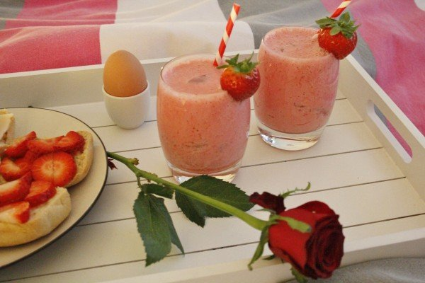 Strawberry Kiss Smoothie