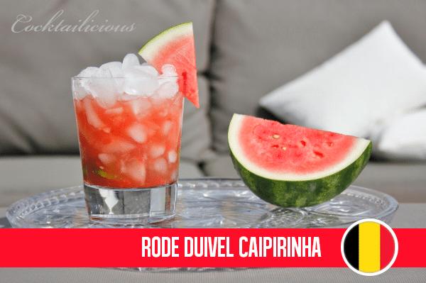 Rode Duivel Caipirinha