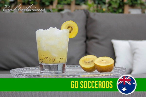 Socceroos WK cocktail