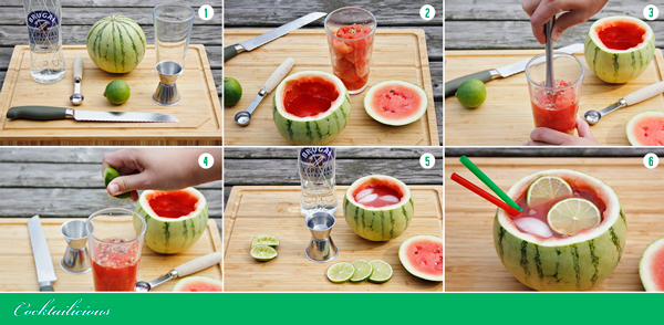 Watermelon Punch: how to