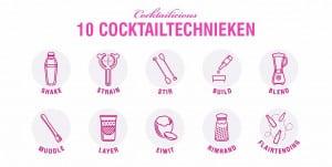 Cocktailtechnieken header