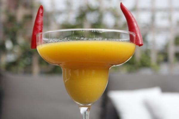 Devilish Mango Margarita
