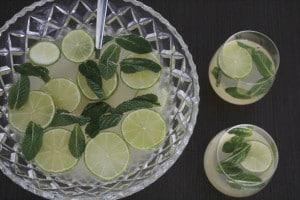 Elderflower Champagne Punch