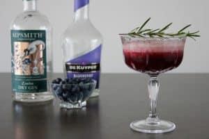 Blueberry Gin Symphony