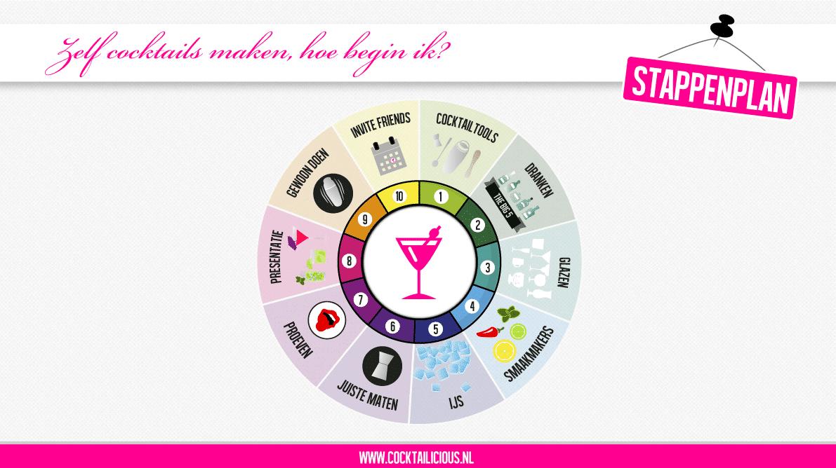 Stappenplan - hoe begin ik - infographic