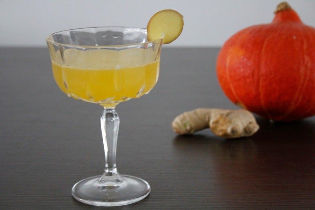 Pumpkin Ginger Martini foto