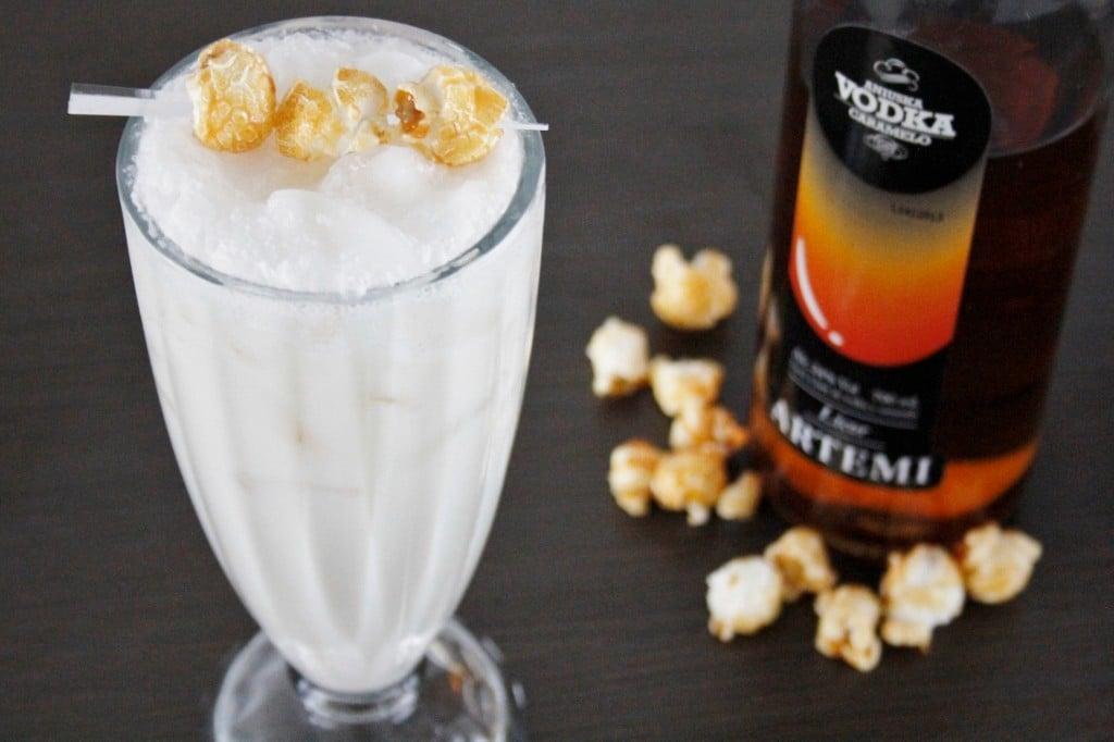 Milky Caramel Popcorn Shake foto