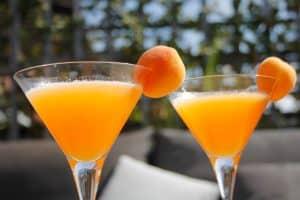 Apricot Cantaloupe Martini foto
