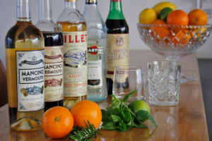 Tasting: vermouth cocktails