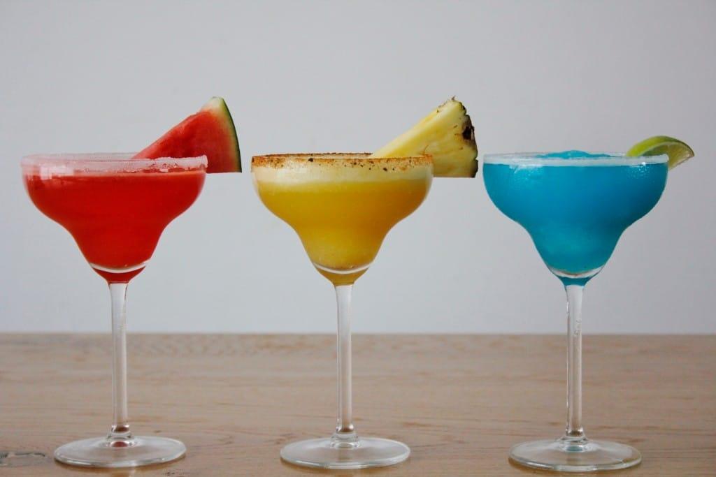 Margaritas line up