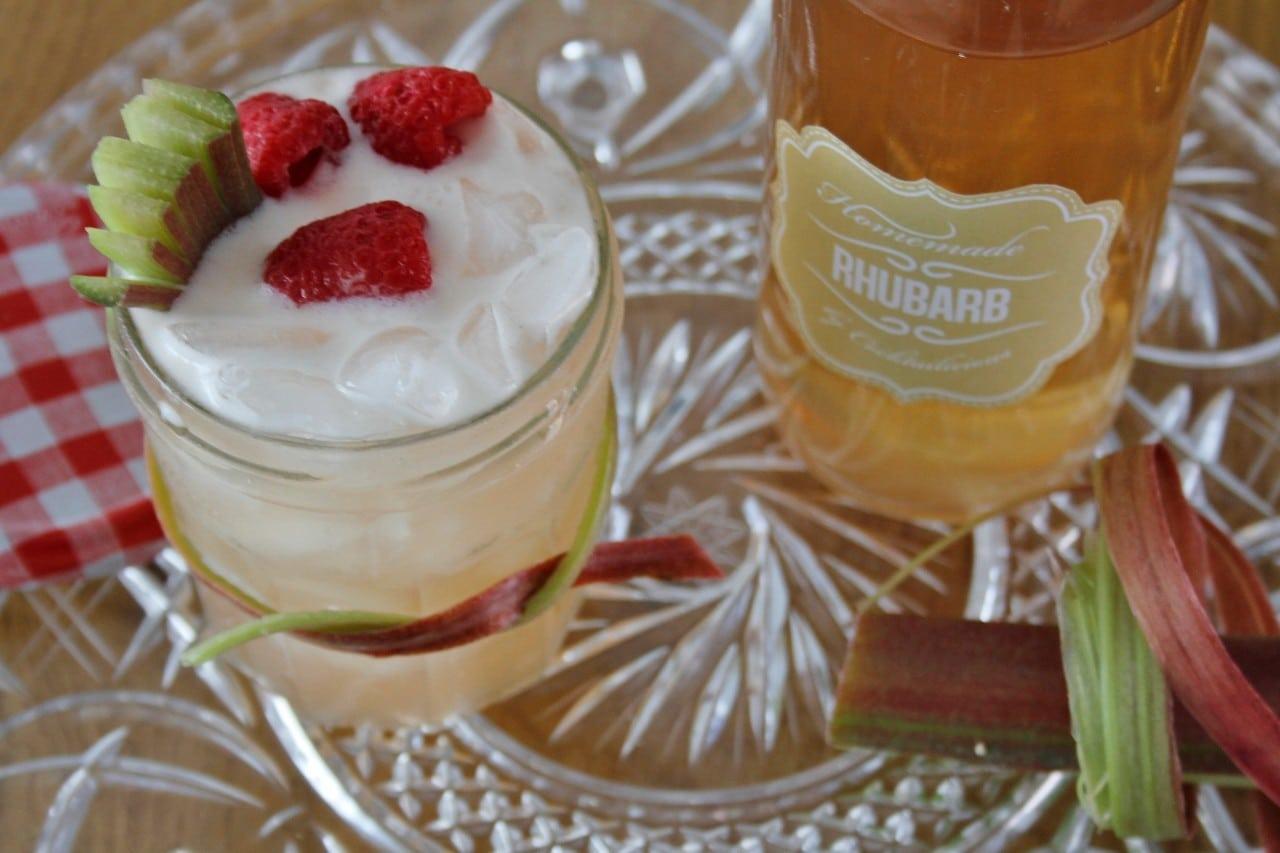 Rhubarb Raspberry Punch foto