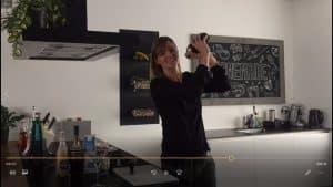 Hoe shake je een cocktail filmpje