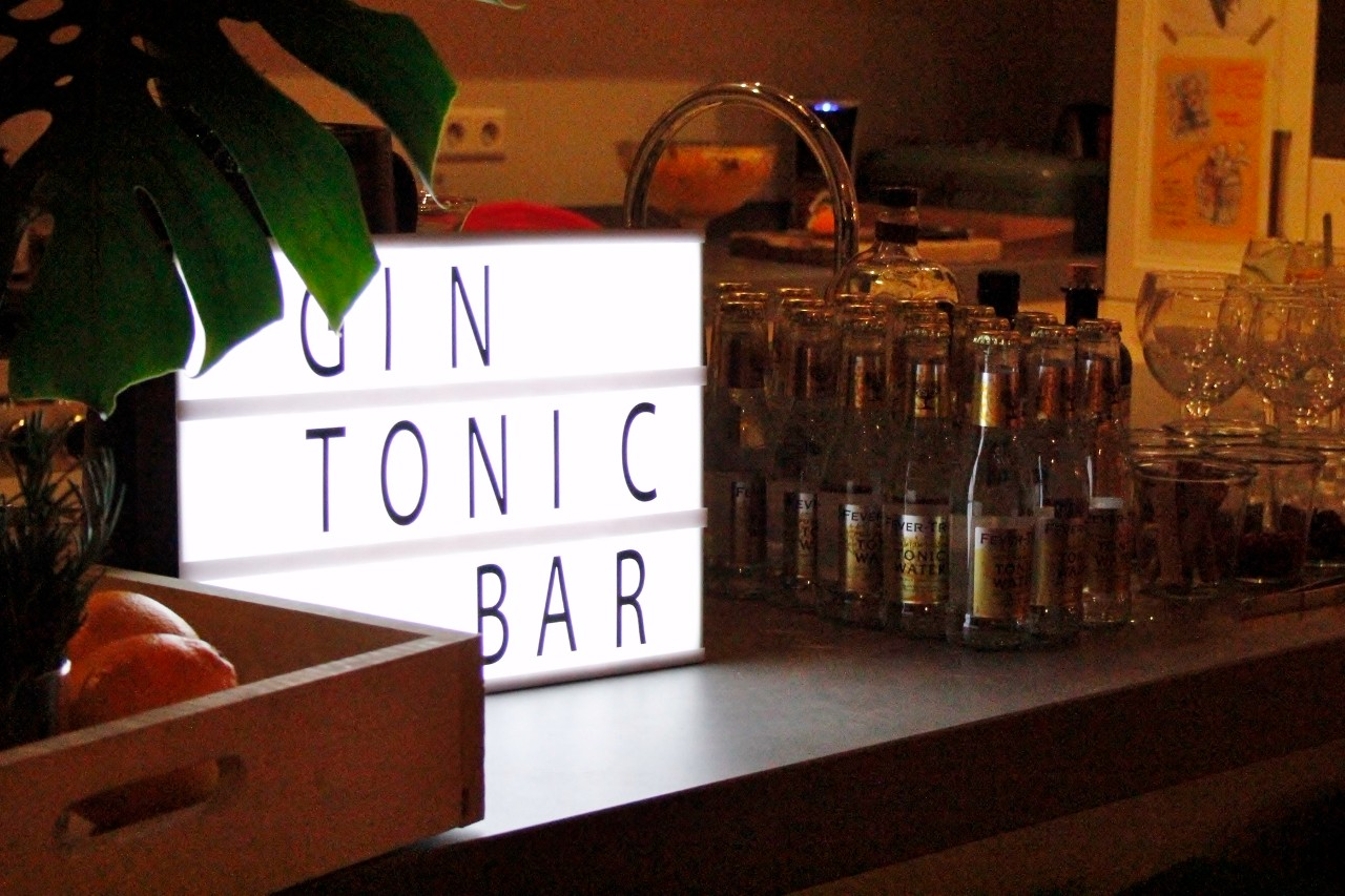 Gin tonic bar foto