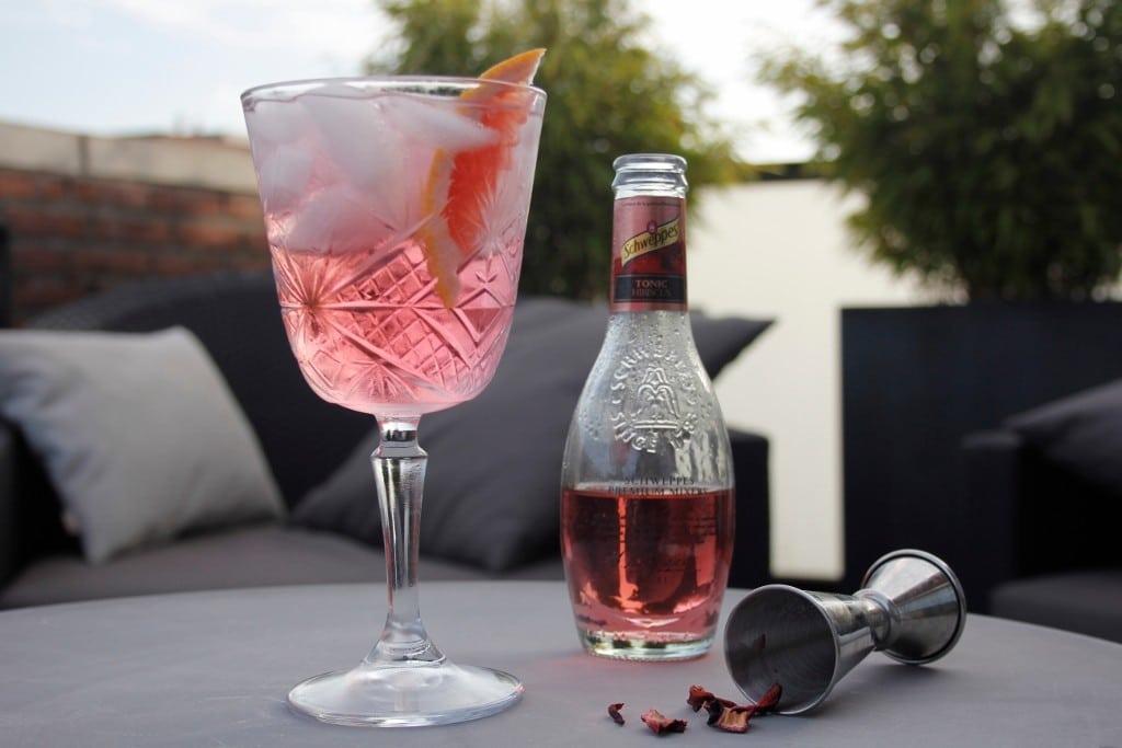 Gin Tonic Hibiscus foto