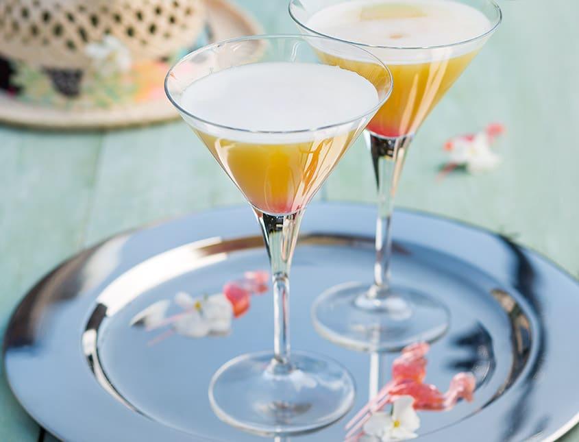 Pineapple flirt cocktail