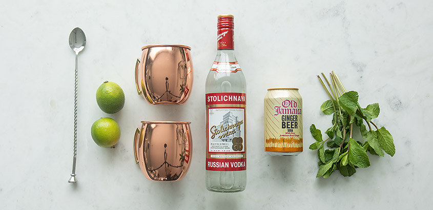 ingredienten Moscow Mule