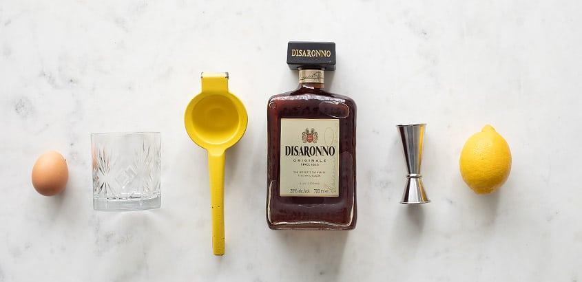 Amaretto sour ingredienten