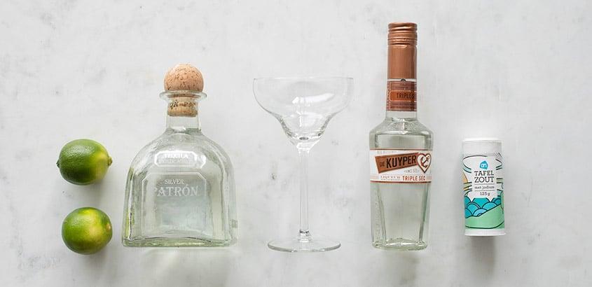 Margarita ingredienten
