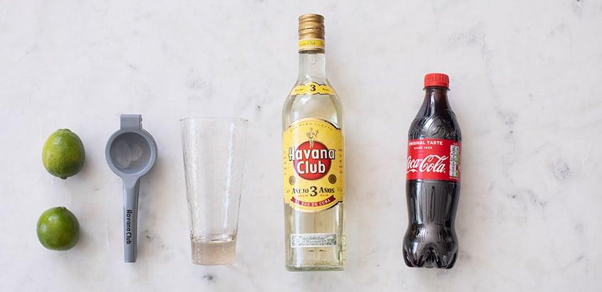 Cuba libre ingredienten