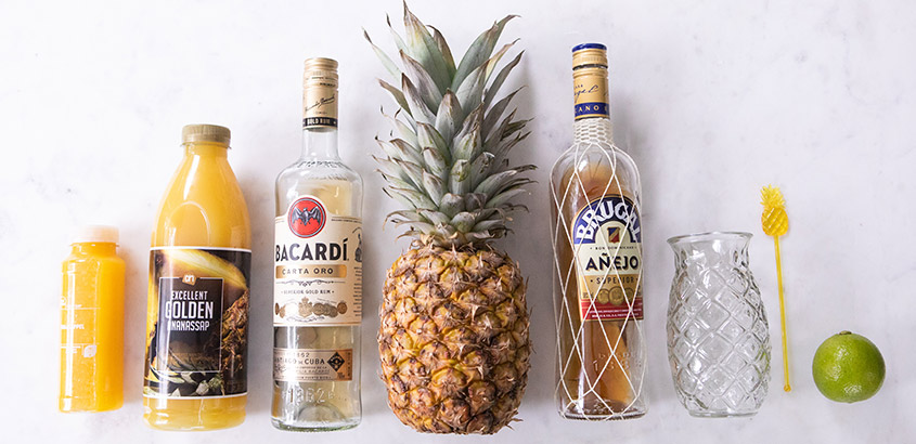 Rum swizzle ingredienten