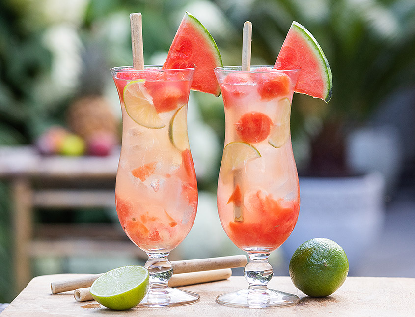 watermelon sling cocktail