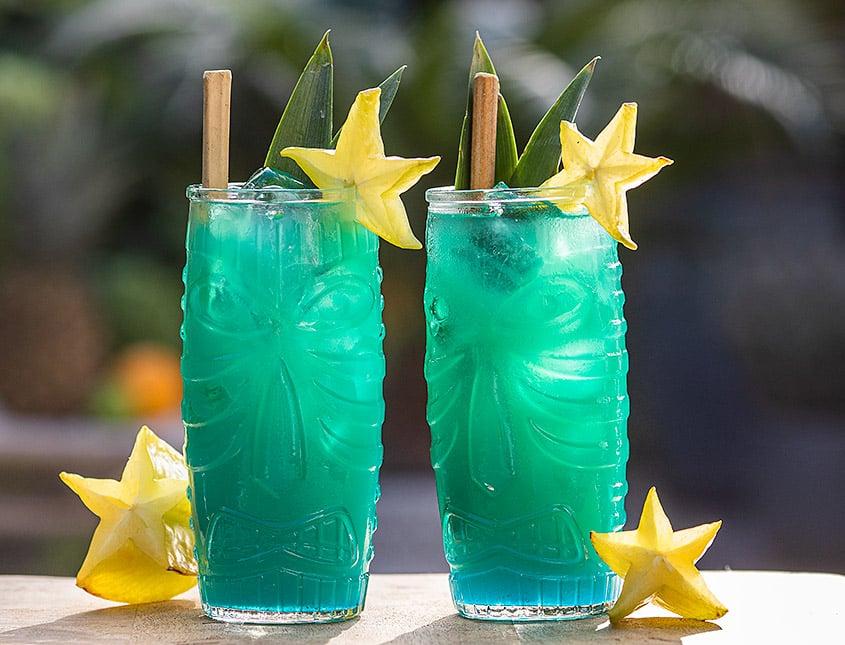 blue kontiki cocktail
