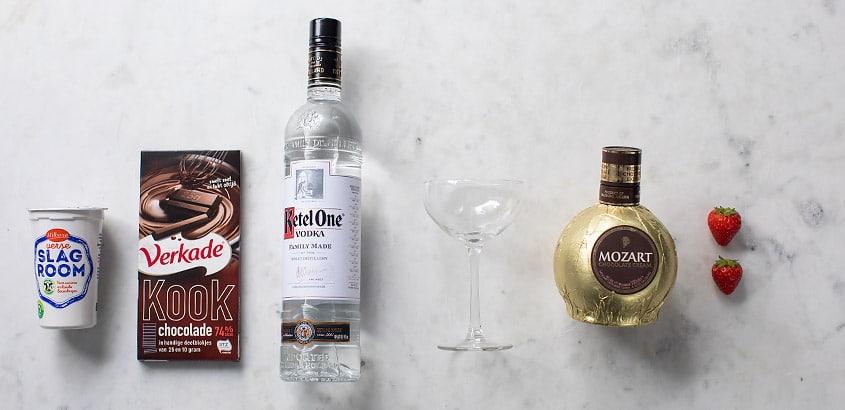 Chocolate martini ingredienten